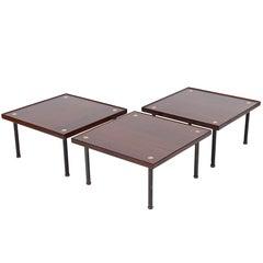Three Modular Tables or Seats