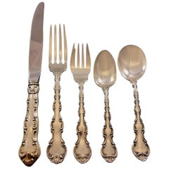 Strasbourg by Gorham Sterling Silver Flatware Set for 8 Service 40 Pcs Dinner