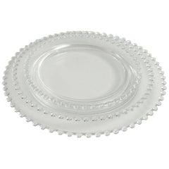 "Lalique France 39 ""Andlau"" Glass Plates"
