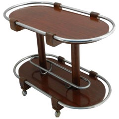 Bar Cart Drinks Trolley Art Deco, Midcentury