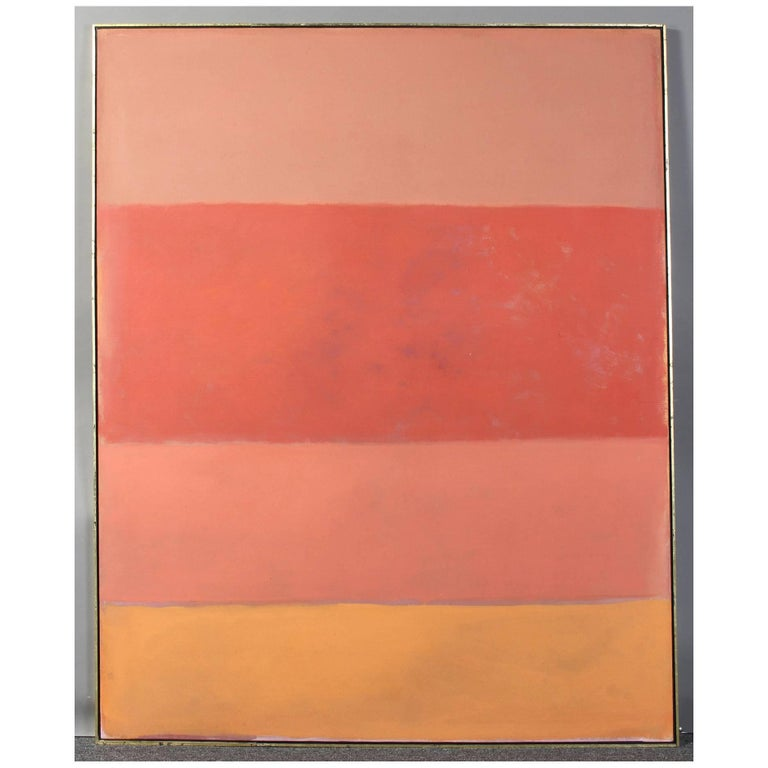 Large Abstract Painting in the Style of Rothko 1