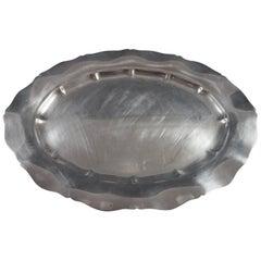 Standish by Gorham Sterling Silver Platter, Marked #40601, Heavy, Hollowware