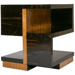 Art Deco Side Table by Jacques Adnet