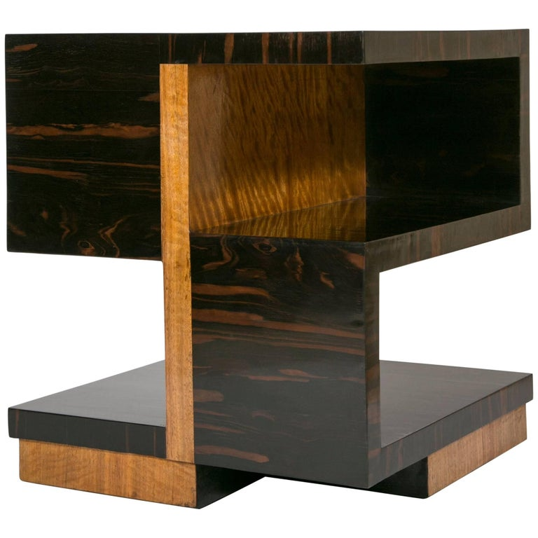 Art Deco Side Table by Jacques Adnet For Sale