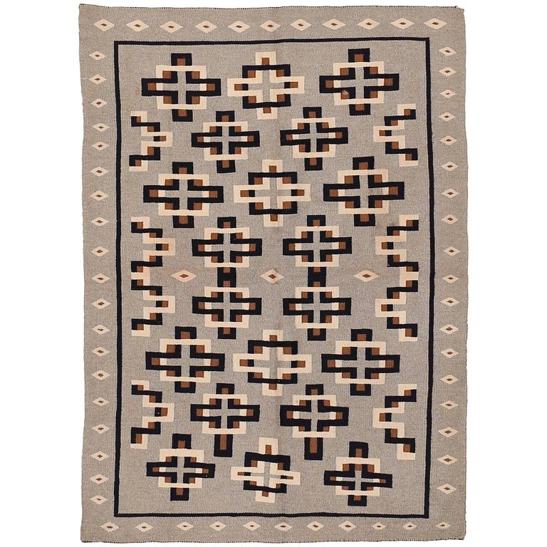Antique Navajo Regional Rug