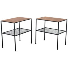 Pair of Mid-Century Modern Arbuck Side Tables