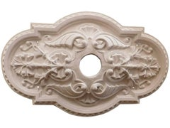 """Victorian Oval"" Plaster Ceiling Medallions"