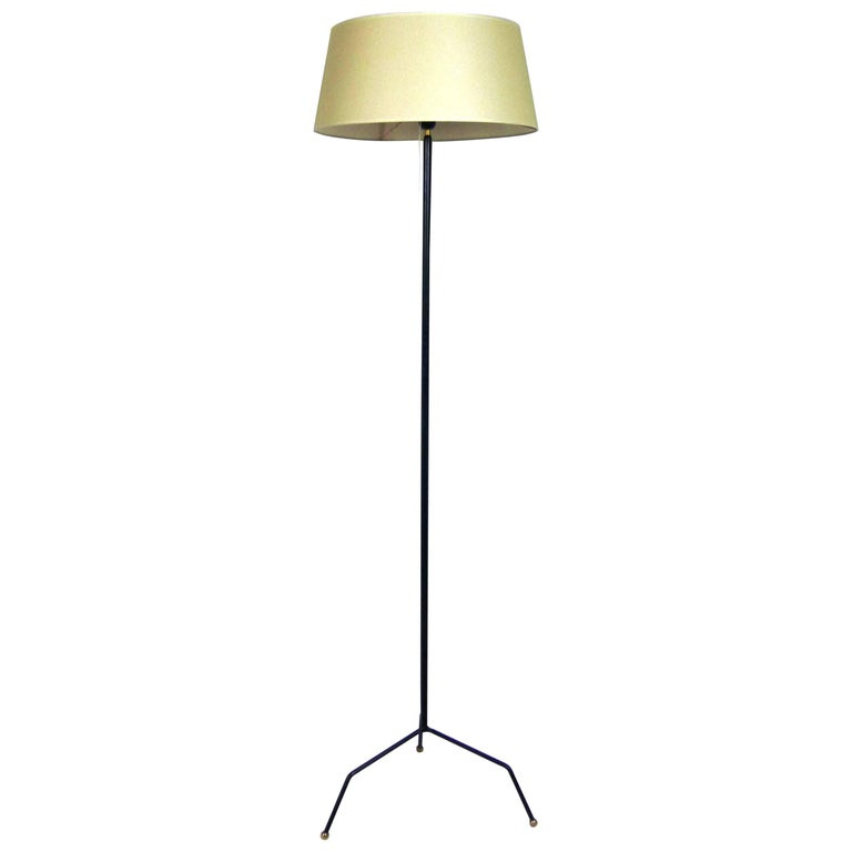 1950s French Work Tripod Floor Lamp For Sale At 1stdibs
