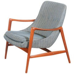 Adolf Relling Teak Lounge Chair for Dokka Møbler