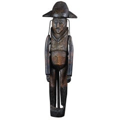 Early 19th Century Naive French Soldier Toy