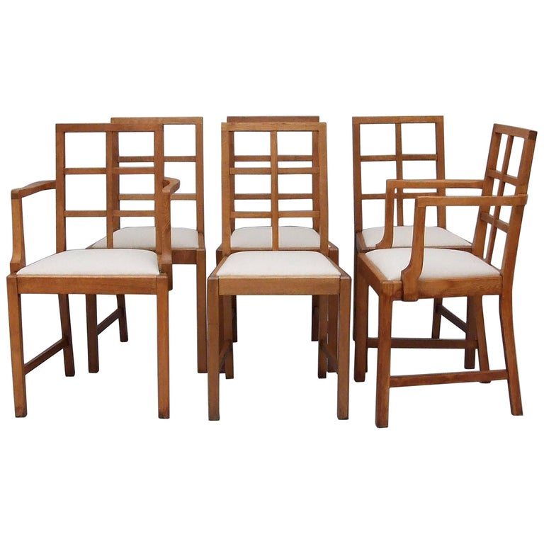 Cotswold Oak Six Dining Chairs