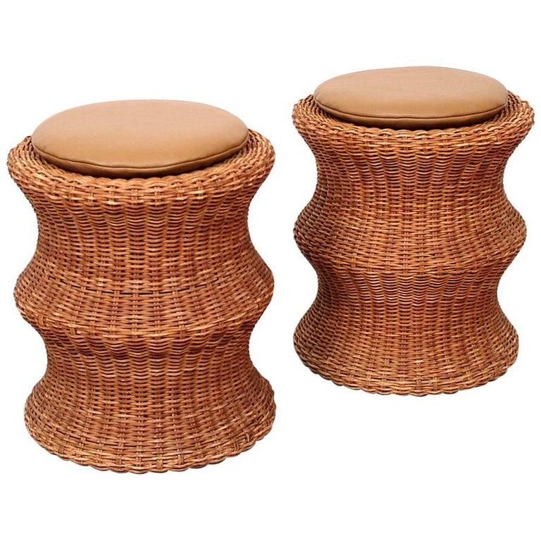 """Pair of Eero Aarnio """"Juttu"""" Stools For Sale"""