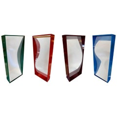 Set of Four Vintage Carnival Fun-House Mirrors