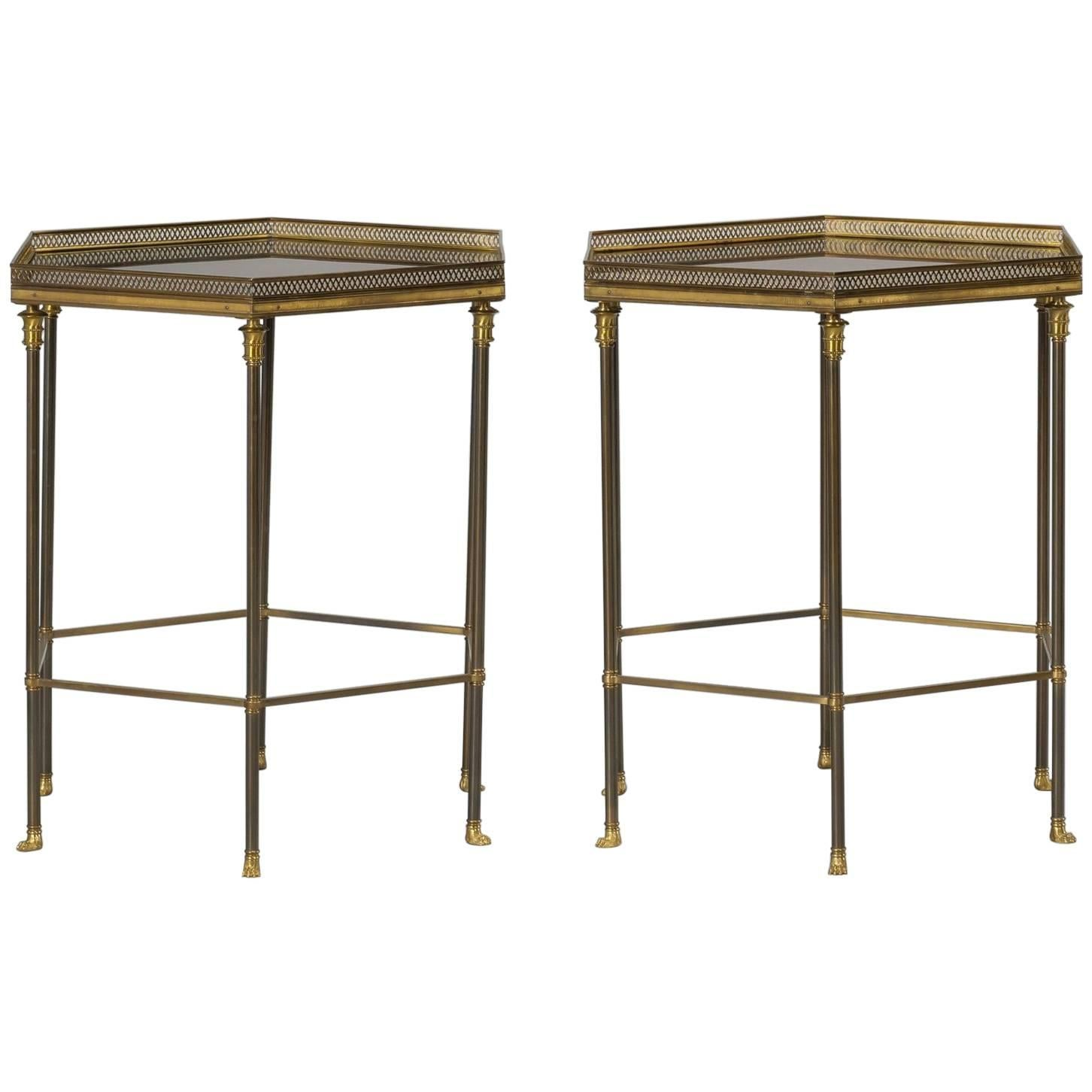 Pair Of Maison Charles Side Tables