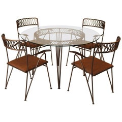 Maurizio Tempestini for Salterini Patio Table and Chairs