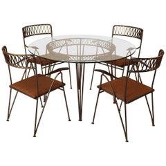 Maurizio Tempestini for Salterini Patio Table and Chairs