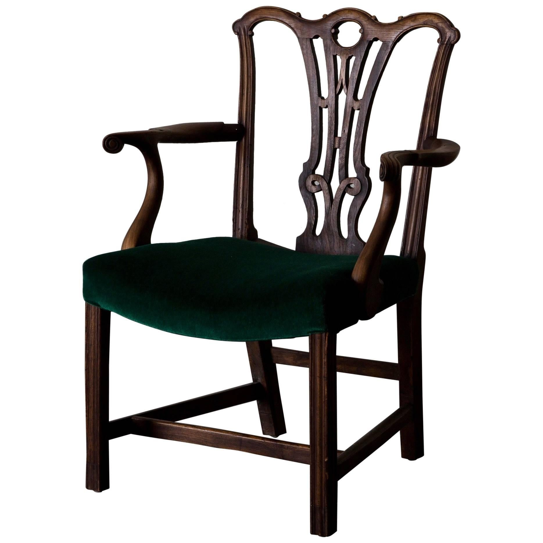 Armchair Chippendale English 19th Century England