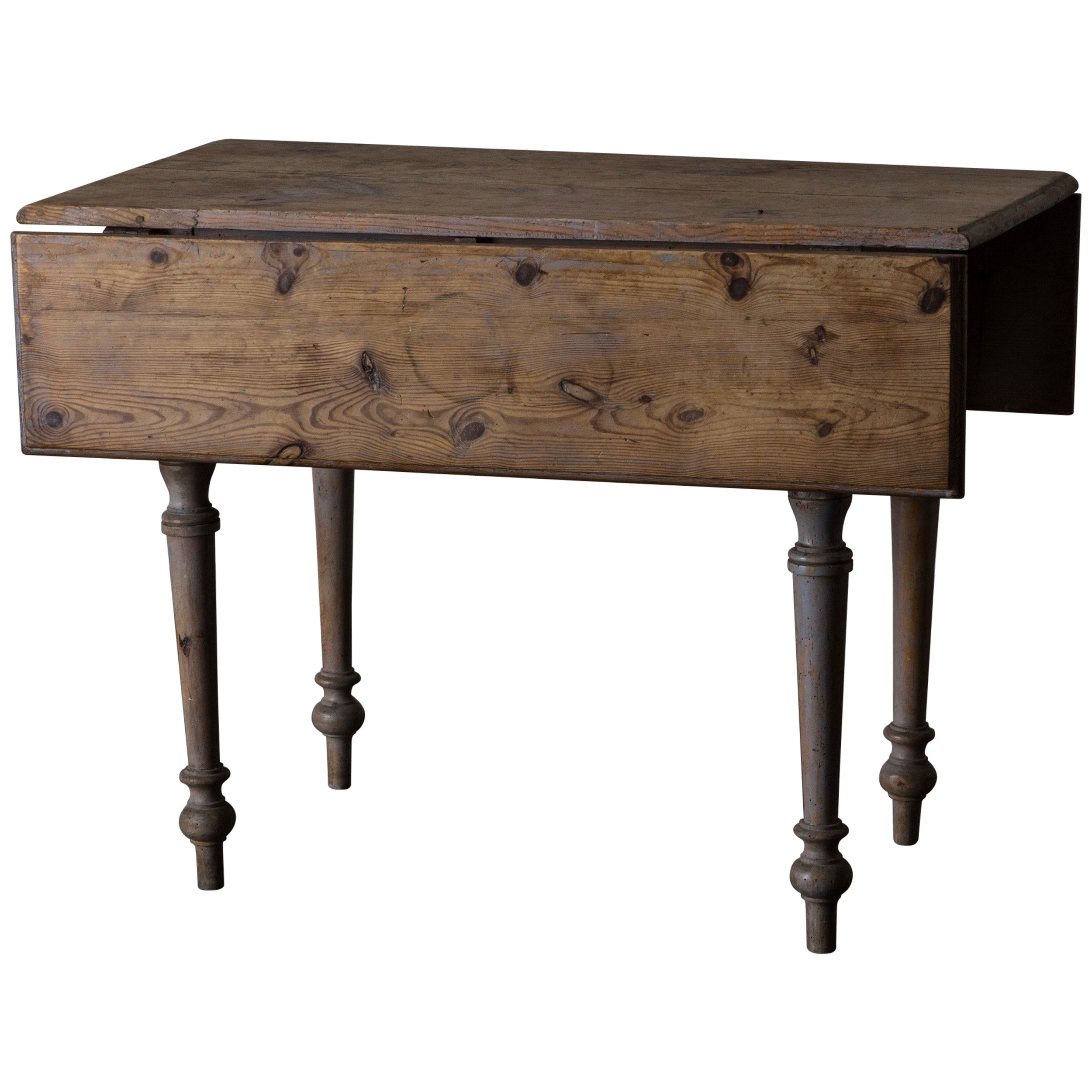 Table Drop Leaf, 19th Century, Sweden