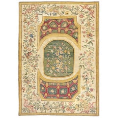 French Aubusson Pile Rug, 1750-1760