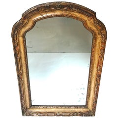 Louis XV Period Italian Carved and Gesso Mirror