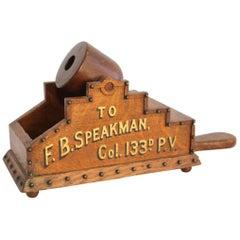 Mid-19th Century Civil War Era Ballot Box