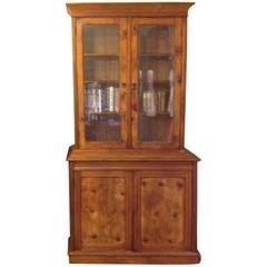 Australian Colonial Period Pine Kauri Pine Bookcase