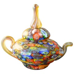 Fratelli Toso Paperweight in the Form of a Teapot