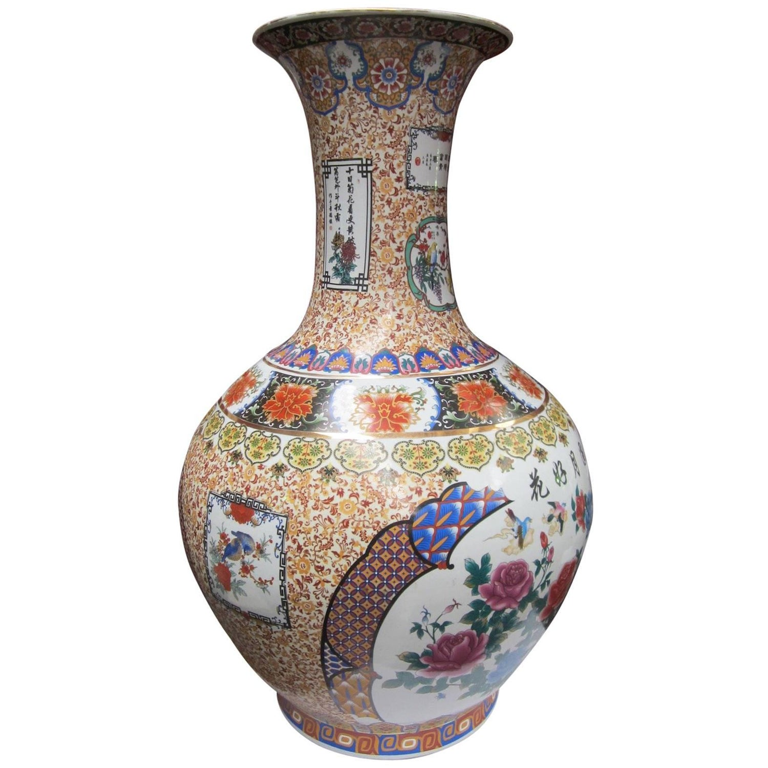 Large decorative chinese vase for sale at 1stdibs reviewsmspy