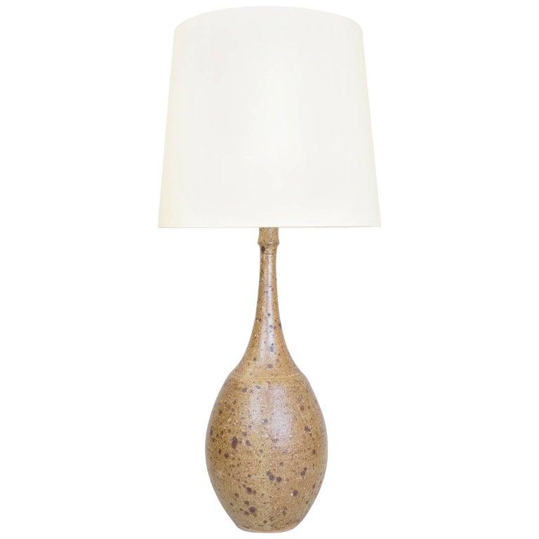 J&N Pierlot Large Ceramic Table Lamp