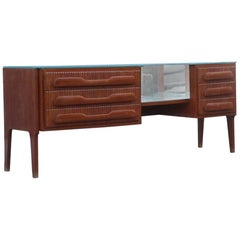 Geometric Design Chest of Drawers, 1950, Very Elegant and Particular