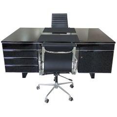 Extra Large Bauhaus Style Partner Desk