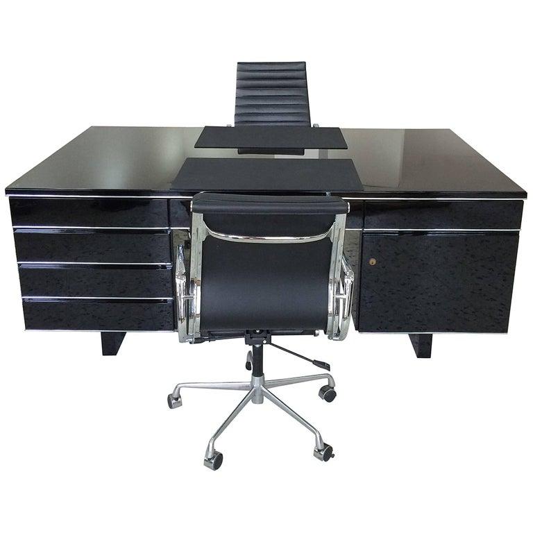 Extra Large Bauhaus Style Partner Desk 1