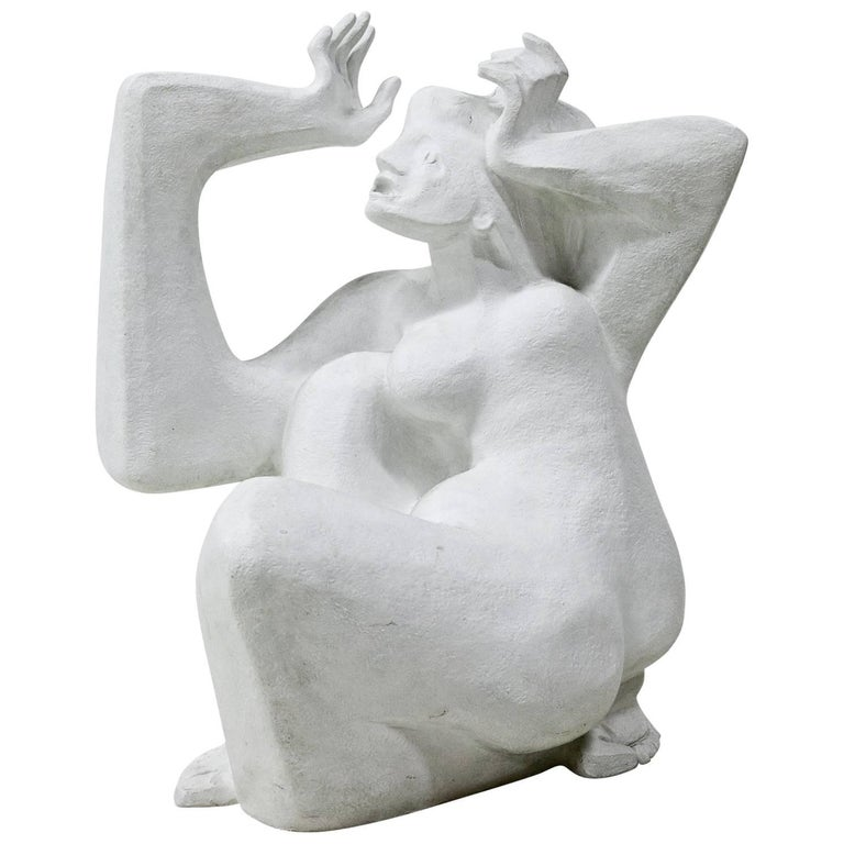 Modern Plaster Sculpture, Italy, Mid-20th Century