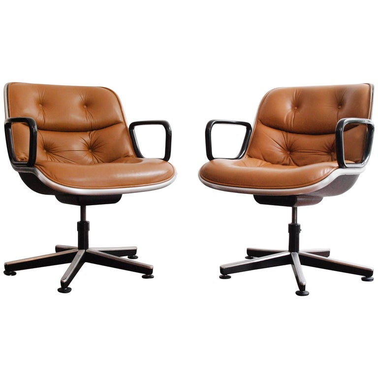 Charles Pollock Executive Chair for Knoll International For Sale