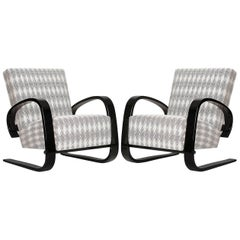 Cantilever Lounge Chair by Miroslav Navratil for UP Zavody, 1950s, Set of Two