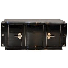 1930s Art Deco Buffet with Side Panels