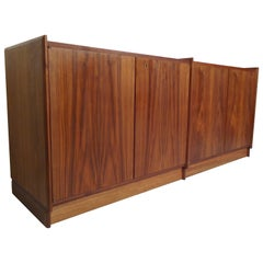 Mid-Century Modern Double Cabinet