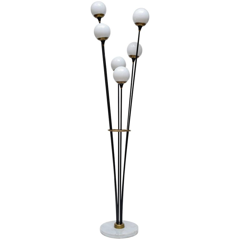 Pair of Alberello Floor Lamps by Stilnovo