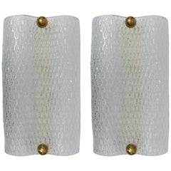 Pair of Sconces in Murano Glass