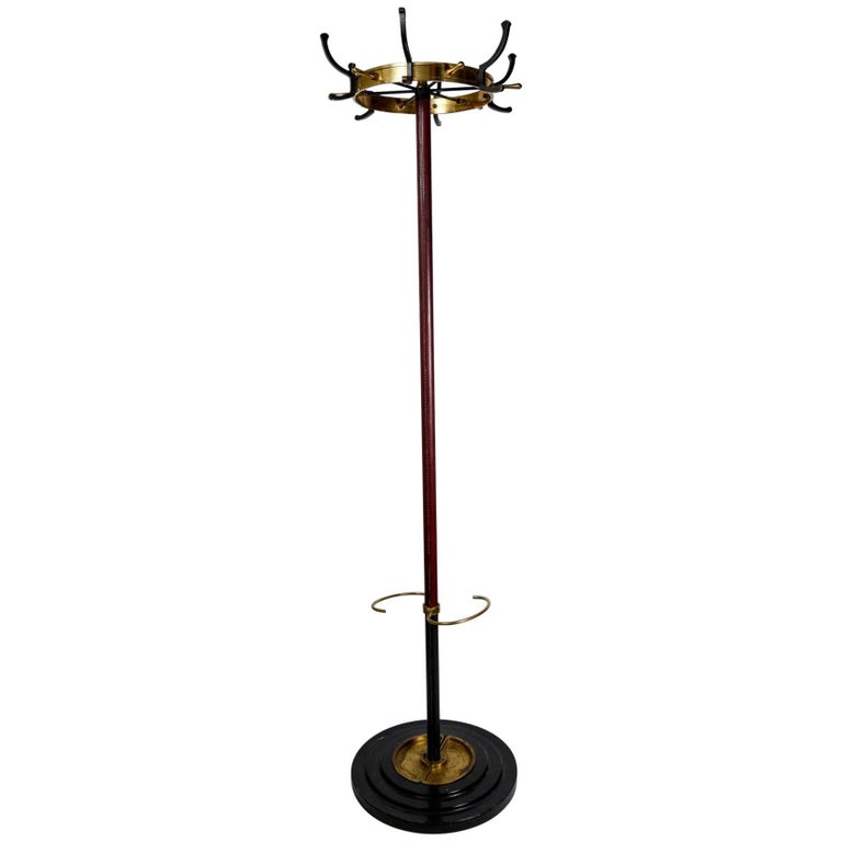 Rare Coat Stand by Jacques Adnet