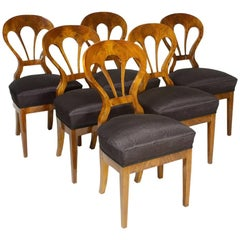 Set of Six Biedermeier Side Chairs by Iliad Design