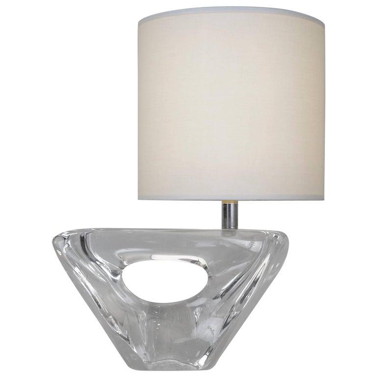Daum Crystal Table Lamp