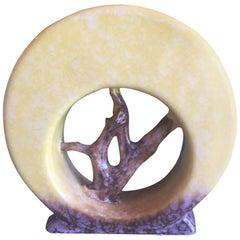 Roseville Pottery Arts & Crafts Circle Vase / Planter Artwood