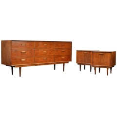 Arne Wahl Iversen Rosewood Bedroom Set