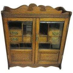 Smokers Cabinet, Edwardian Period