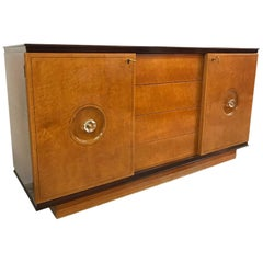 Italian Art Deco  Maple Root Dresser