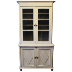 Large Vitrine in the Style Gustavian from circa 1810s