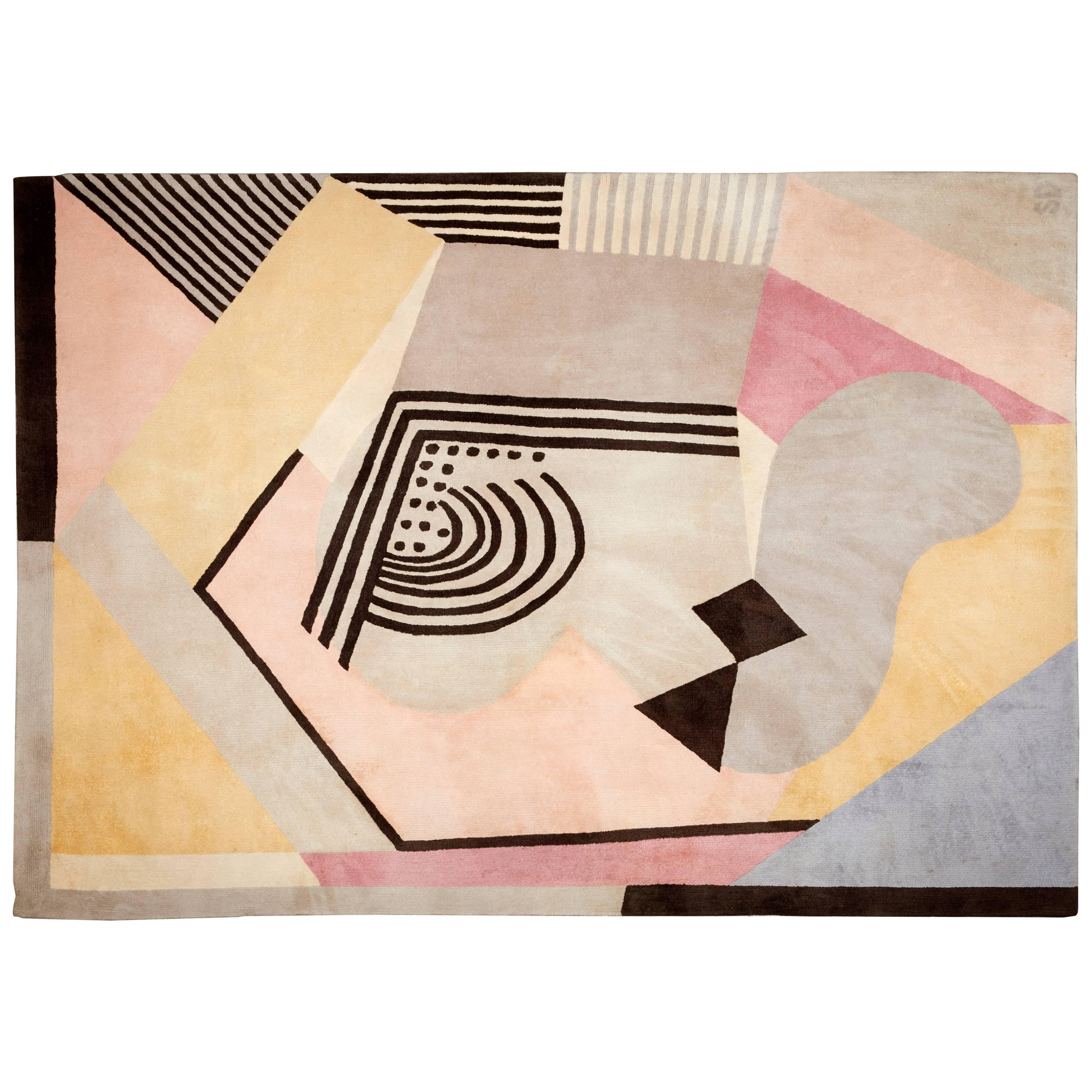 """""""Butterfly"""" Rug by Sonia Delaunay, circa 1980"""