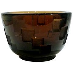 Jean Luce, an Art Deco Bowl, Signed with the Artist's Monogram