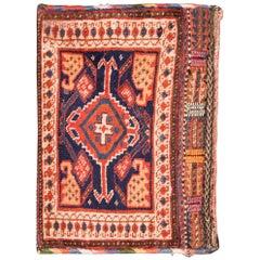 19th Century Antique Afshari Carpet Small